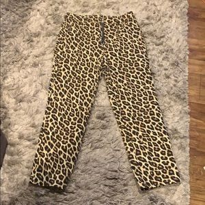 Forever 21 Cheeta jeans